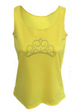 yellow princess tank