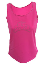 bubblegum pink princess tank