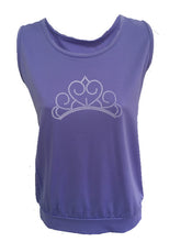 purple princess tank tiara