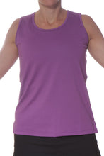 purple performance tank