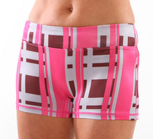 urban pink run bun running shorts