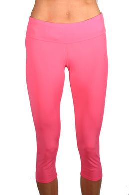 bubblegum running capri tight