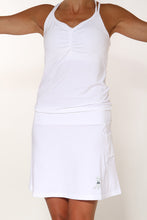 white sporty dress