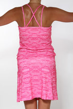 pink treehugger sporty dress back