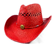 Ruby Red Cowgirl Hat