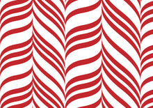 Red & White Candy Stripe Run Buns