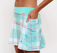 caribbean plaid pockets