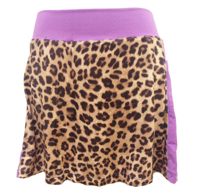 cheetah purple running skirt