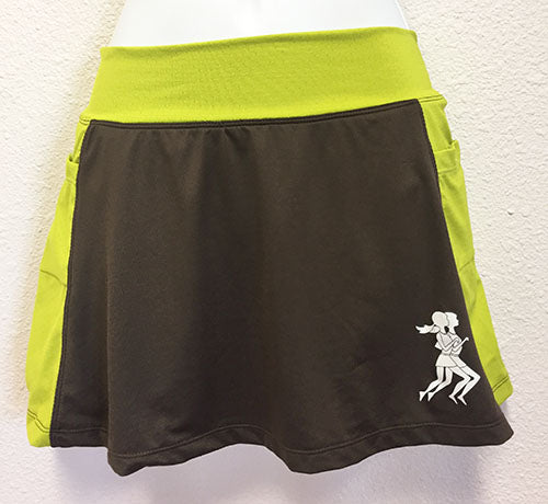 Chocotreuse Running Skirt