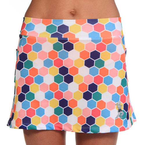 honeycomb running skirt