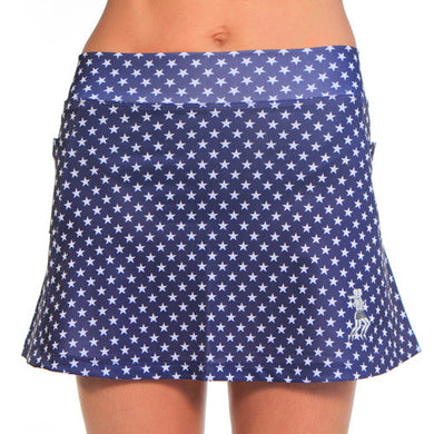 midnight stars running skirt