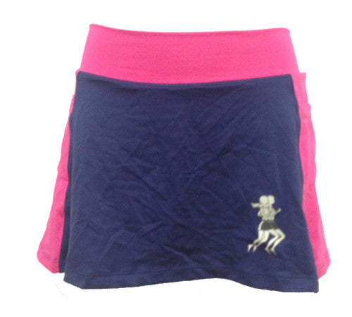 midnight pink running skirt