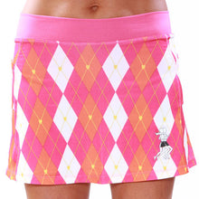 Preppy Pink Running Skirt