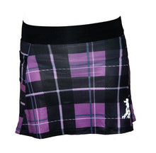 Tartan Purple Plaid Running Skirt