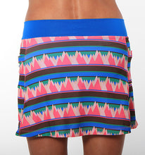 summit print triathlon skirt back