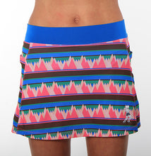 summit print triathlon skirt