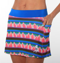 summit print triathlon skirt side pockets