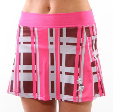 urban pink running skirt