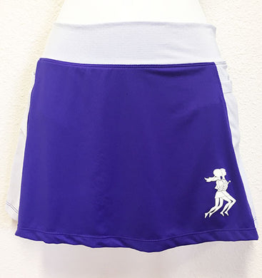 Violet and Lilac Running Skirt