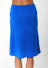 cobalt long length athletic skirt back