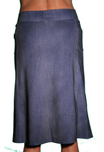 denim spirit skirt back