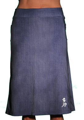 denim spirit athletic skirta