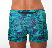 seacamp sport running shorts back zippe