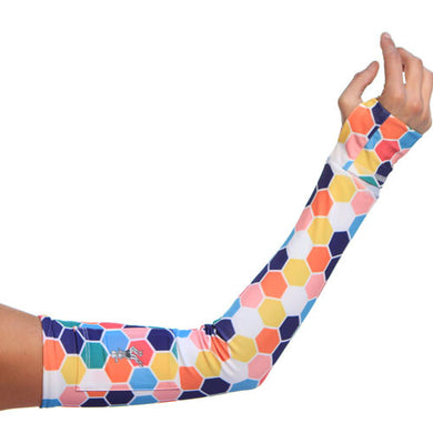 honeycomb arm sleeves