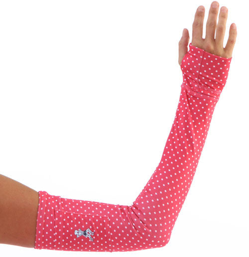 haute pink dot sleeves