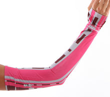 urban pink arm warmers