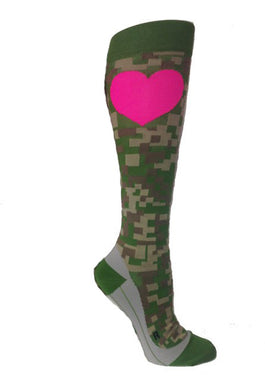 RunLove Camo Compression Socks