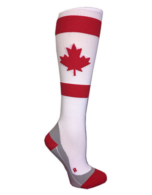 Maple Leaf Compression Socks