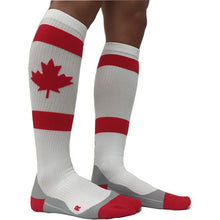 maple leaf canadian flag compression socks