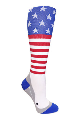 Stars & Stripes Compression Socks (backorder ships 12/30)