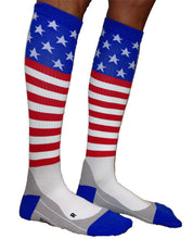 stars and stripes compression socks