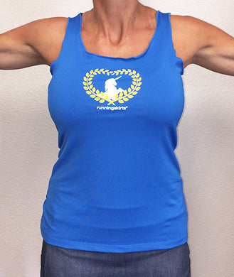 cobalt blue unicorn love sporttank