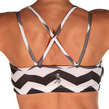 chevrun strappy sports bra back