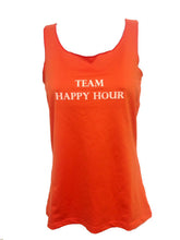 team happy hour sport tank mandarin orange