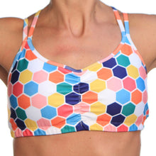 honeycomb strappy top