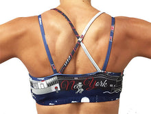 nyc strappy top sports bra back