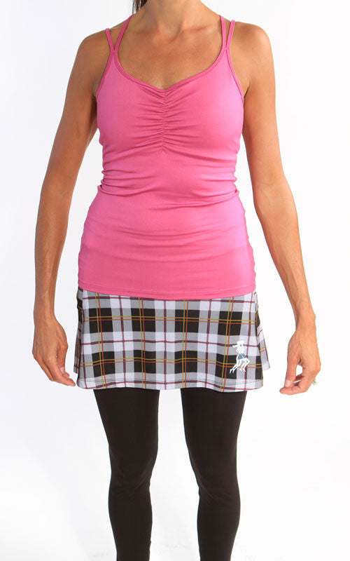 sub zero skirt preppy black