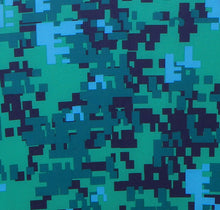 seacamp digital camo print swatch
