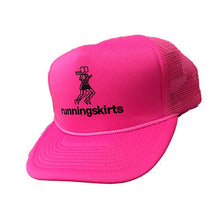 pink runningskirts trucker hat