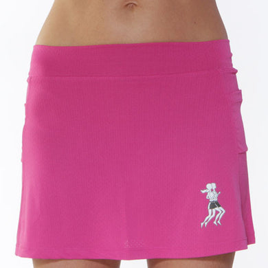 ultra running skirt fuschia