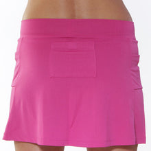 fuschia ultra athletic skirt back