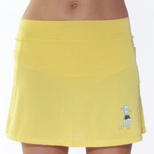 ultra swift run skirt gold