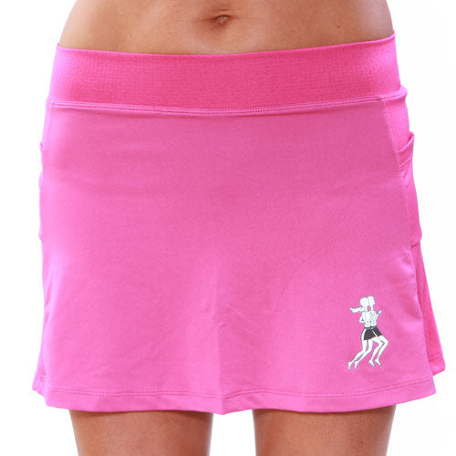 haute pink ultra swift skirt front