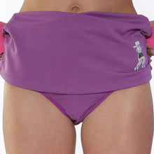 purple ultra swift skirt briefs