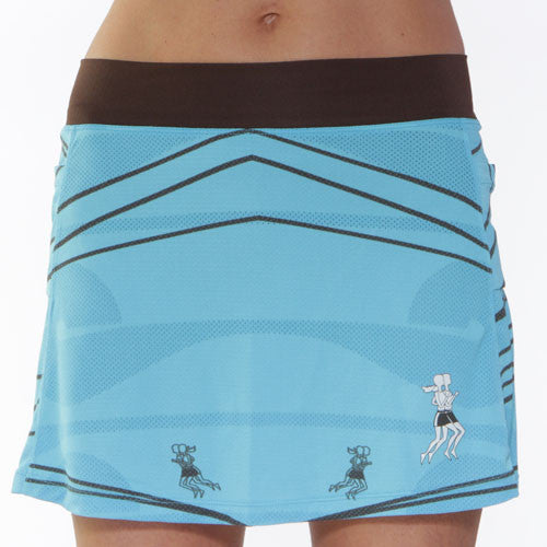 ultra swift running skirt surf wave