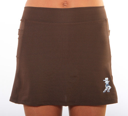 chocolate ultra swift skirt
